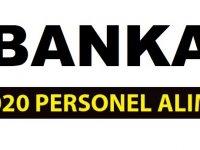 Banka Memur Personel Alımları devam ediyor