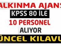 En az KPSS 60 puan Devlet Memuru Alımı Yapılacaktır