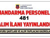 481 Personel Alımı Başvuruları Devam Ediyor