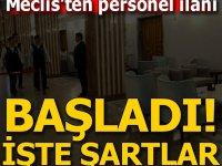 Meclis Ankara Personel Alımları 2020