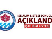 Büyükşehir belediyesi Zabıta ve Koruma memur alım sonuçları açıklandı