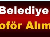 Mersin Büyükşehir Belediyesi KPSS Olmadan Daimi Statüde 25 şoför alımı