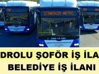 Eskişehir Büyükşehir Belediyesi 48 Otobüs Şoförü Alıyor
