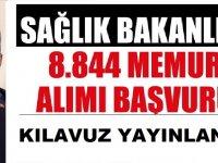 KPSS-2020/4 Sağlık Bakanlığı 8 Bin 884 Memur Alım Kılavuzu