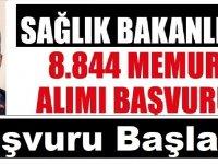 8.844 Personel Alımı Başvuruları Başladı! Lise, Önlisans Lisans Mezunu