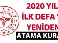 Sağlık Bakanlığı 2020 Yılı İlk Defa ve Yeniden Atama Kurası