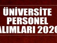 Konya Üniversite Araştırma Görevlisi Alımları 2020