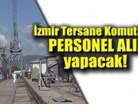 İzmir Tersane Komutanlığı Personel Alımları 2020