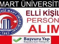 Çanakkale 18 Mart Üniversitesi Personel Alımları 2020
