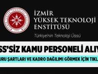 İzmir Yüksek Teknoloji Üniversitesi iş ilanları 2020