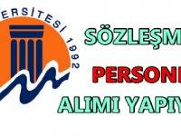 Mersin Üniversitesi Personel İş İlanları 2020