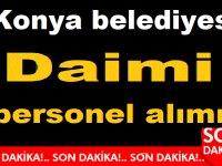 Konya Selçuklu Belediyesi 2020 memur alımları