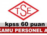 TSE Türk Standartları Enstitüsü Kamudan Kariyer ilanı