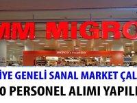Migros Sanal Market iş ilanları 2020