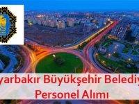 Diyarbakır Büyükşehir Belediyesi Personel iş ilanları 2020
