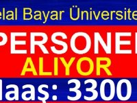 Manisa Celal Bayar Üniversitesi 46 Sürekli Daimi İşçi iş ilanları 2020