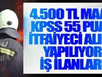Büyükşehir Belediyesi KPSS 55 Puanla 100 İtfaiye Eri alacak