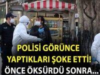 POLİSİ GÖRÜNCE