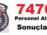 Adalet Bakanlığı CTE Genel Müdürlüğü 7476 personel Kariyer alımı nihai sonuçlar