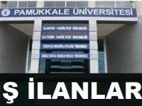Denizli Pamukkale Üniversitesi İş İlanları 2020