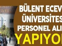 Bülent Ecevit Üniversitesi Sağlık personeli iş ilanları 2020