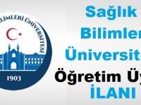 Sağlık Bilimleri Üniversitesi Kamudan Kariyer Öğretim Üyesi alıyor