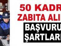 Ankara MAMAK Belediyesi 50 kişilik Kadın Erkek Zabıta Personeli Alacaktır