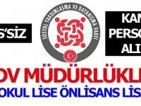 Mayıs Ayı SYDV Personel işçi iş ilanları