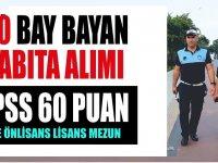 Başvurular Tüm Türkiye Geneli KPSS 60 Puan 80 Zabıta Memuru Alımı
