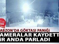 Trabzon ,Elazığ, Erzurum göktaşı düşme görüntüleri video