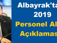 Berat Albayrak'tan 2019 personel memur alımı Açıklaması