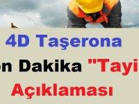 4/D işçilerine mazerete dayalı iller arası yer değiştirme tayin hakkı