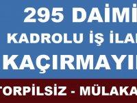 Atatürk Üniversitesi Erzurum Daimi Torpilsiz ve Mülakatsız Kura ile 295 işçi alıyor