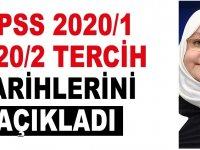 KPSS 2020/1 ve 2020/2 tercih tarihleri