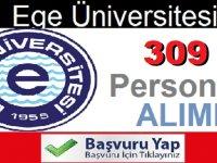 Ege Üniversitesi sözleşmeli 309 sağlık personeli alacak. İlan metni Değiştirildi