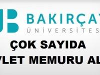 İzmir Bakırçay Üniversitesi Rektörlüğü Mühendis , Memur, Destek Personeli alıyor