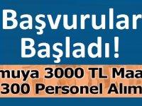 Milli Savunma Bakanlığı, Sosyal Güvenlik Kurumu 1300 Personel Alacağını açıkladı