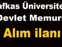 Kafkas Üniversitesi Daimi 98 Personel Alıyor