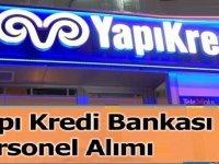 Yapı Kredi bankası personel alımı 2021
