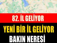 Türkiye'de yeni bir il kurulmasına dair TBMM'ye yeni bir kanun teklifi