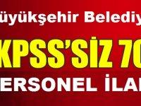 Malatya Belediyesi 70 Personel Kariyer İlanı