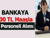 3 Banka 2021 Yılı Gişe personeli alımı yapacak