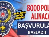 8 Bin Kadın Erkek Polis Alımı Başvuruları Başladı