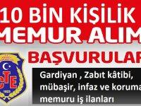 Adalet bakanlığı 2021 Yılı 10 Bin Gardiyan , Zabıt kâtibi, mübaşir, infaz ve koruma memuru iş ilanı