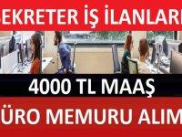 Belediye Kadrolu Kura ile Büro işçileri Alacaktır