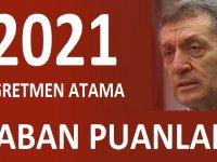 2021 YILI Öğretmen Atama Taban Puanları Özel haber