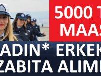 Konya Büyükşehir Belediyesi KADIN ERKEK 50 zabıta memuru alacak