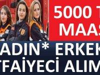 Büyükşehir Belediyesi 100 itfaye eri alacaktır