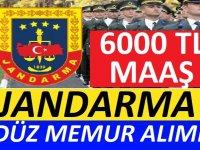 Jandarma Genel Komutanlığı sivil memurlar alacaktır