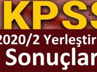 KPSS-2020/2 Yerleştirme Sonuçları Sonuç Açıklama Ana Sayfası